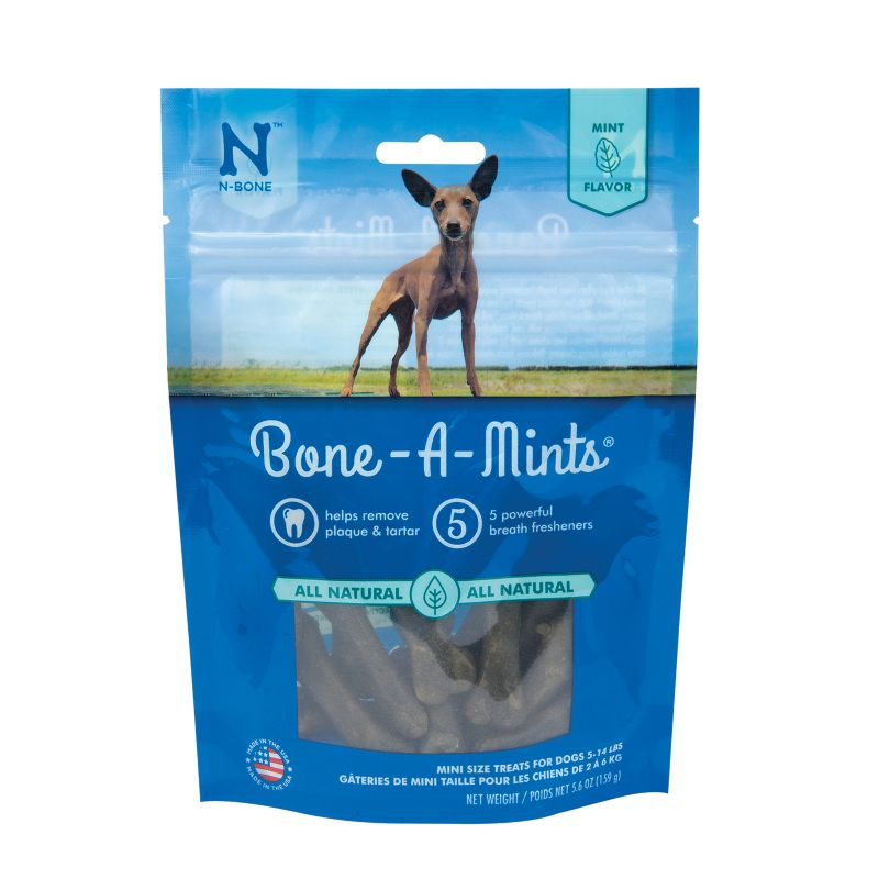 N-Bone Wheat Free Bone-A-Mints Dog Chews LG
