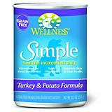 Wellness Simple Grain Free Turkey Dog Food 12 Pack