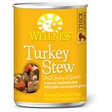 Wellness Turkey Stew Barley/Carrot Dog Food 12pk
