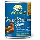 Wellness Venison/Salmon Stew Can Dog Food 12 Pack