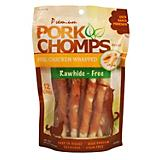 Premium Pork Chomps Mini Twistz Dog Chews
