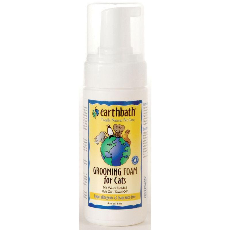 Earthbath Hypo-Allergenic Foam Cat Shampoo