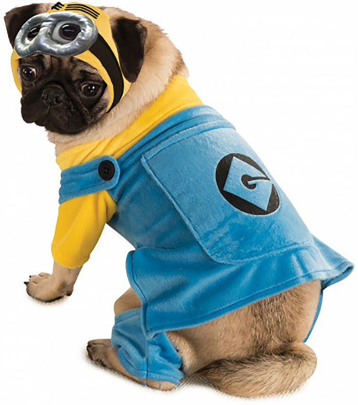 Image of Despicable Me Minion Dog Costume XXXLarge