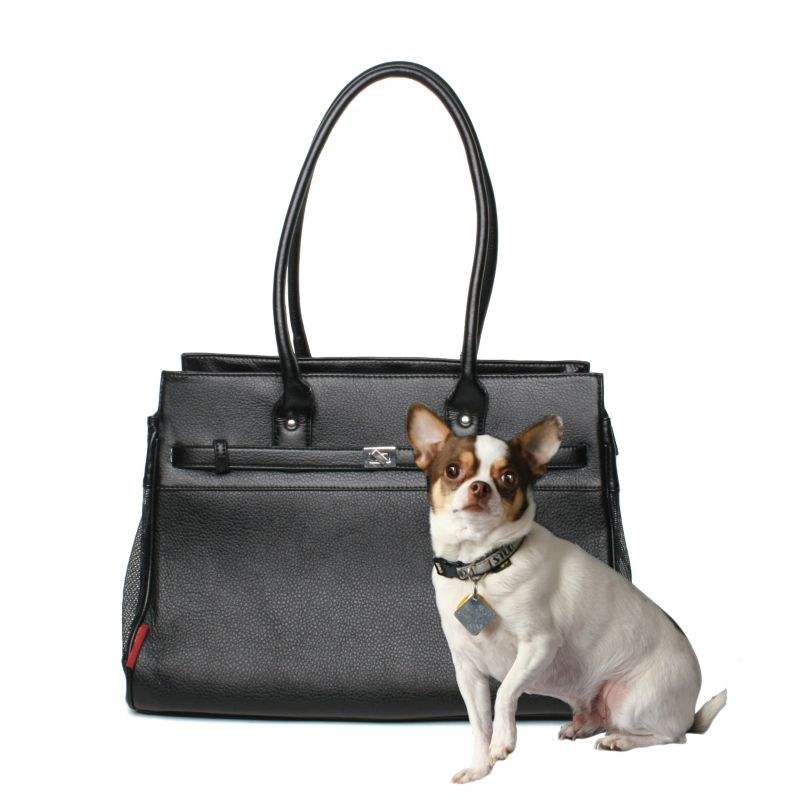 Bark n Bag Black Monaco Pet Tote