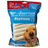 Pet Factory Chip Roll Dog Rawhide 22 Pack