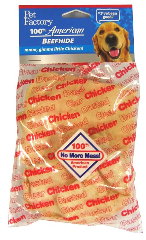 Clear Basted Chip Dog Rawhide Beef