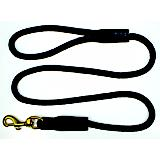 Rope Dog Lead with Brass Snap