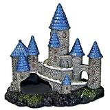 Blue Ribbon Blue Sprire Castle Aquatic Decoration