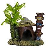 Blue Ribbon Betta Hut w/Palm Tree