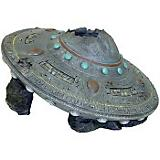Blue Ribbon UFO Crash Cave Aquatic Decoration