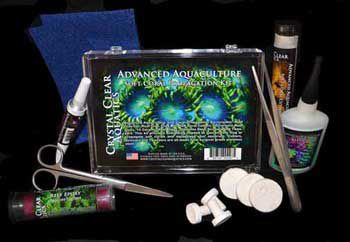 Crystal Clear Soft Coral Propagation Kit
