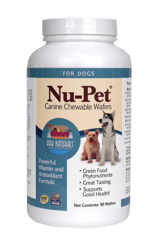 Ark Naturals Nu-Pet Chewable Wafer Dog Supplement