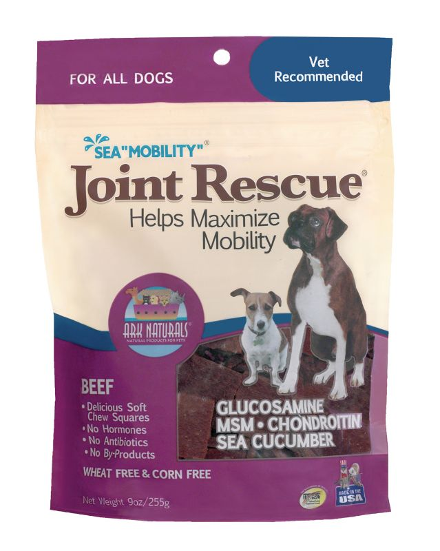 Ark Naturals Sea Mobility Jerky Dog Treat Beef