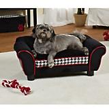 Enchanted Pet Houndstooth Lotus Dog Bed