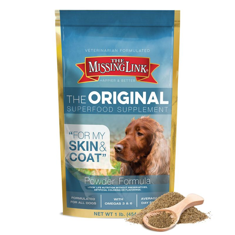 Missing Link Ultimate Skin/Coat Dog Supplement