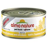 Almo Legend Salmon/Chicken Can Cat Food 24 Pack