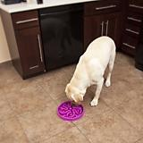 Dog Games Slo-Bowl Flower Style Dog Bowl