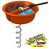 Hugs Pet Better Tether Food and Water Dog Bowl