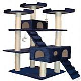 Go Pet Club 72 inch F2040 Blue Cat Tree Furniture
