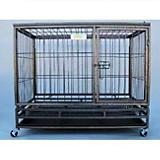 Go Pet Heavy-Duty Metal Dog Crate