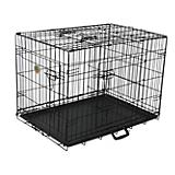 Go Pet Three-Door Metal Dog Crate