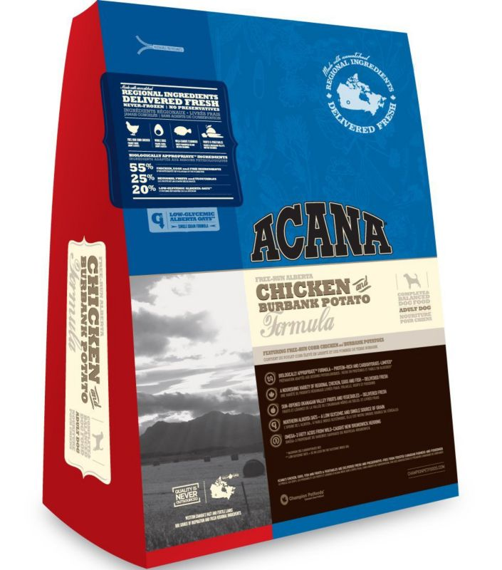 Acana Chicken/Burbank Potato Dry Dog Food 15lb
