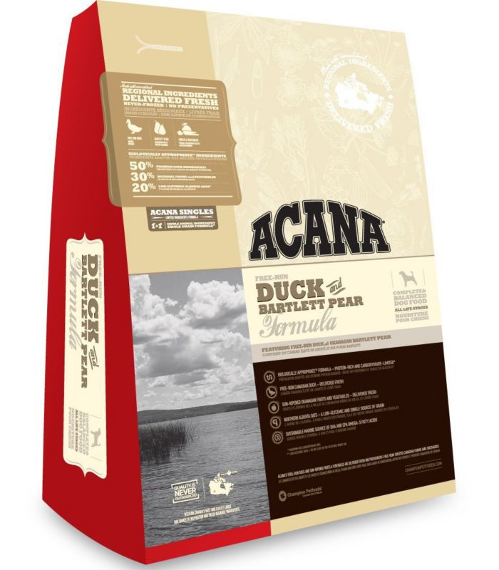 Acana Duck and Bartlett Pear Dry Dog Food 28.6lb