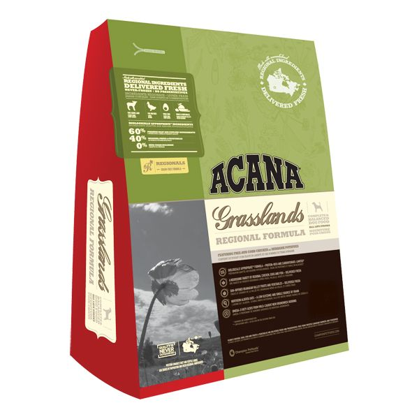 Acana Grasslands Dry Dog Food 15lb