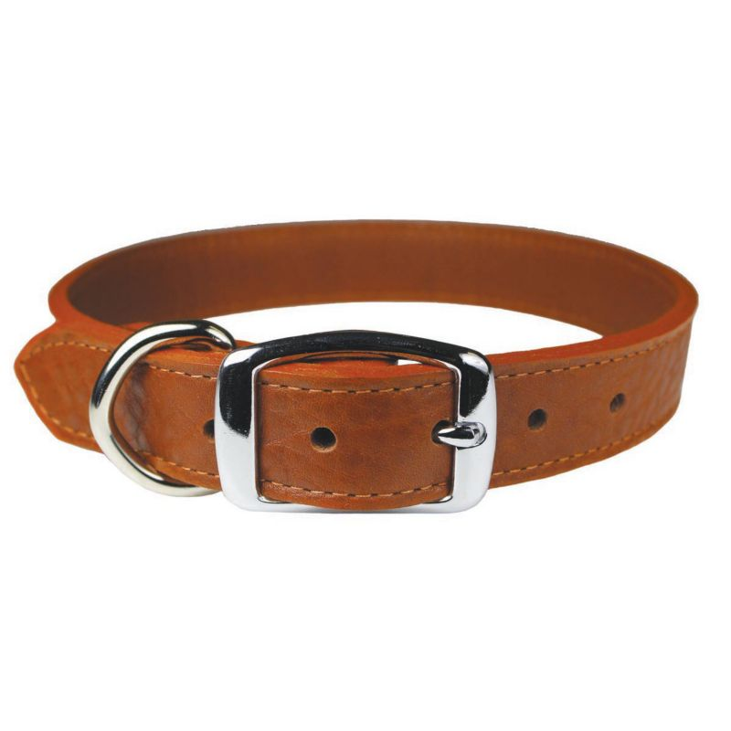 luxe leather collar