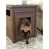 New Age Pet Litter Loo Russet Litter Box House