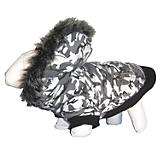 Pet Life Deer Pattern Parka Dog Coat