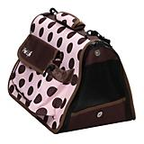 Pet Life Designer Polka Dot Pet Carrier