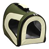 Pet Life Green Zippered Sporty Mesh Pet Carrier