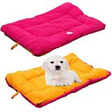 Eco-Paw Reversible Pink and Orange Pet Bed