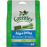 Greenies Hip and Joint Care Dog Treat Teenie 18oz