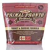 Primal Pronto Turkey/Sardine Frozen Raw Dog Food