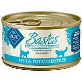 Blue Basics Fish/Potato Can Cat Food 24 Pack