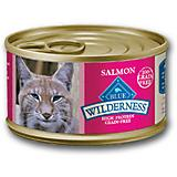 Blue Wilderness Salmon Can Cat Food 24 Pack