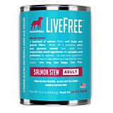 Dogswell LiveFree Salmon Can Dog Food 12 Pack