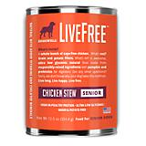 Dogswell LiveFree Senior Chicken Dog Food 12 Pack
