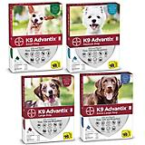 K9 Advantix II for Dogs 4-Month Supply