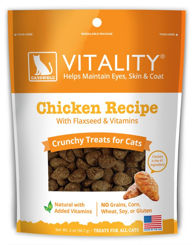 Catswell Vitality Crunchy Chicken Cat Treat