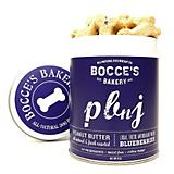Bocces Bakery PBnJ Dog Biscuit Tin