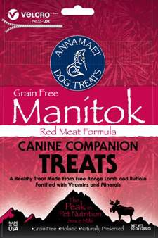 Annamaet Manitok Grain Free Dog Treat
