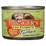 Evangers Turkey Can Ferret Food 12 Pack