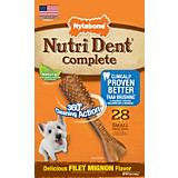 Nutri Dent Dental Dog Chews Filet Mignon