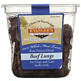 Evangers Raw Gently Dried Beef Lungs Pet Treats