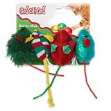 Our Pets Holiday Mice Cat Toy 4 Pack