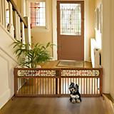 Richell Mission Aztec Freestanding Pet Gate