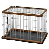 Richell 2 Way Door Pet Pen with Floor Tray